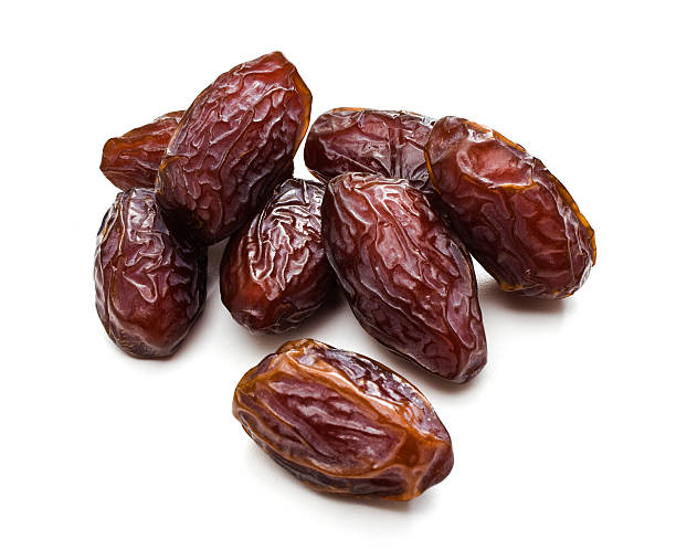 Dates Date fruit on a white background. date stock pictures, royalty-free photos & images