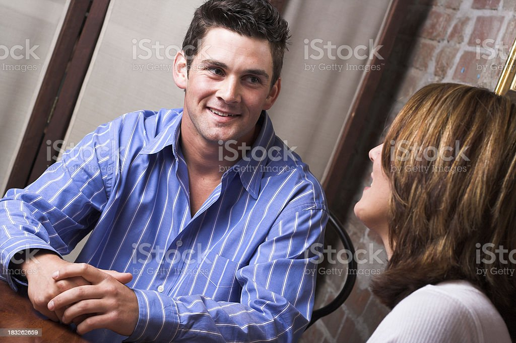 Dating royalty-free stock photo
