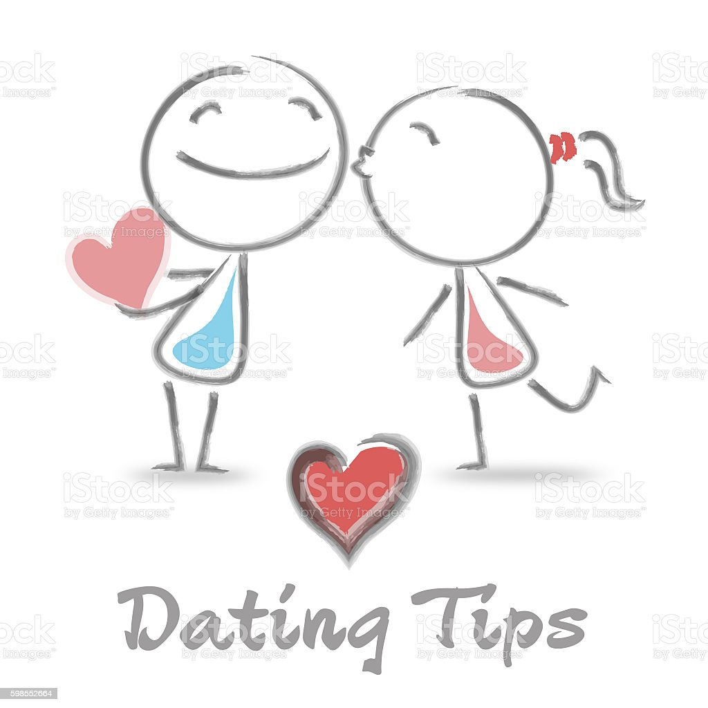 Dating Tips Represents Suggestions Loved And Love stock photo