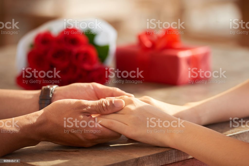 Dating with Soulmate stock photo