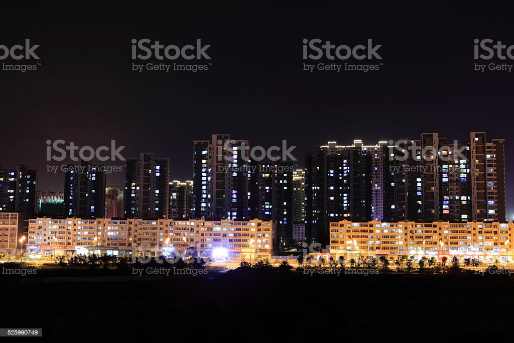 Datong in China stock photo