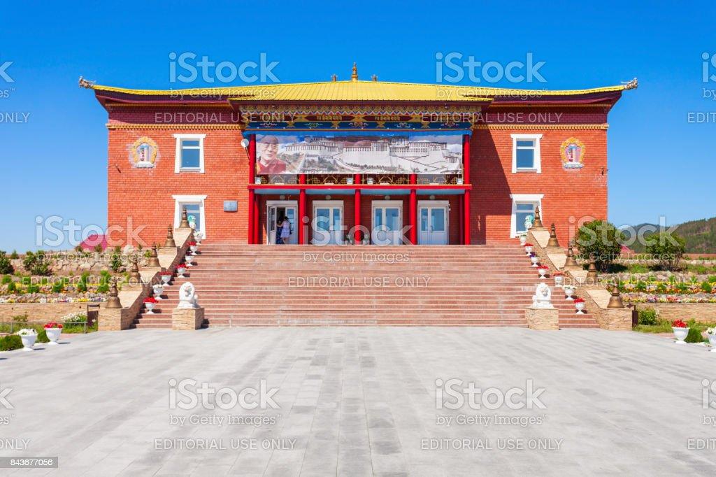 Datsan Rinpoche Bagsha, Ulan-Ude stock photo