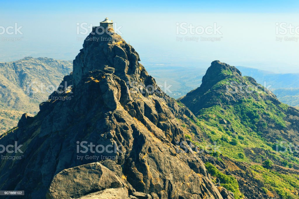 Dattatreya peak stock photo