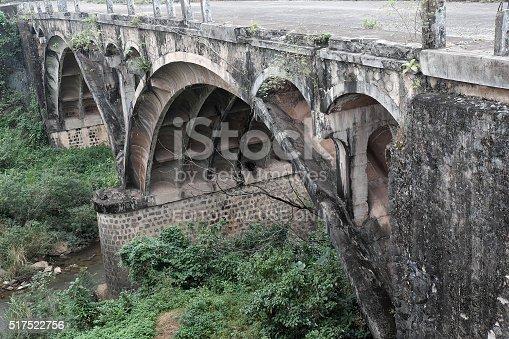 istock Dau Mau bridge, Ho Chi Minh trail, Vietnam 517522756