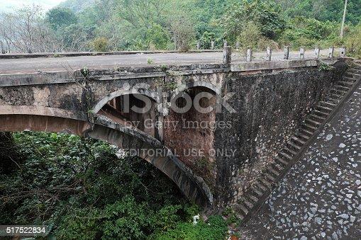 istock Dau Mau bridge, Ho Chi Minh trail, Vietnam 517522834