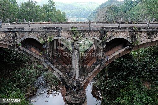 istock Dau Mau bridge, Ho Chi Minh trail, Vietnam 517522864