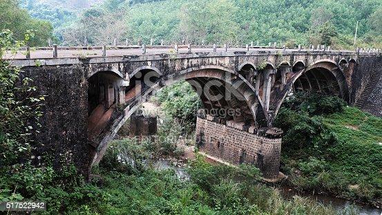 istock Dau Mau bridge, Ho Chi Minh trail, Vietnam 517522942