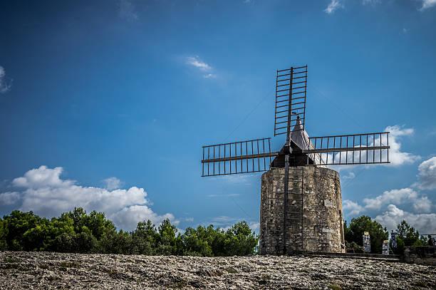 Daudet die Windmühle-Fontvielle (Frankreich – Foto