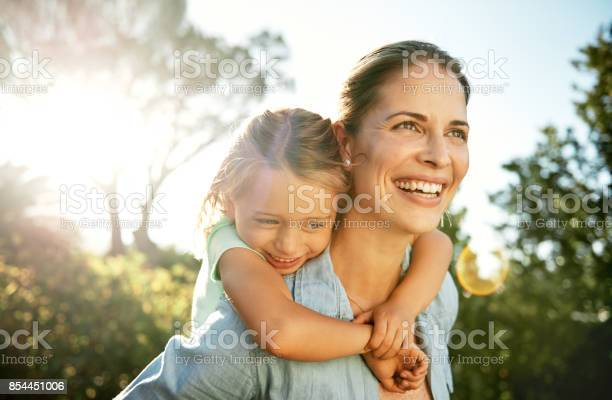 Töchter Sind Die Sonne Des Lebens Stockfoto und mehr Bilder von Alleinerzieherin