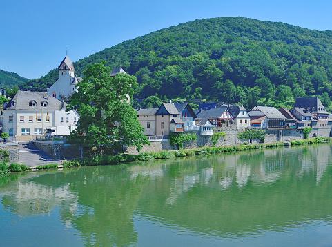 Dausenau,River Lahn,Westerwald,Germany
