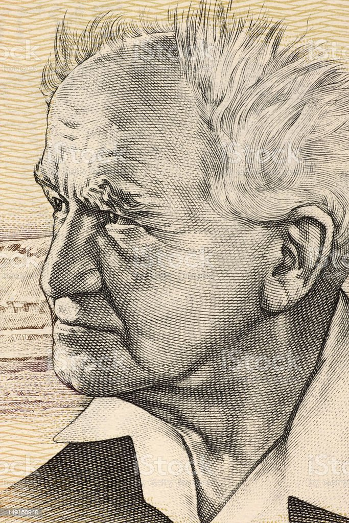David Ben Gurion stock photo