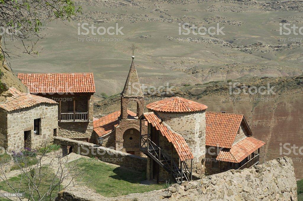 David Gareja monastery complex, Kakheti region, Georgia stock photo