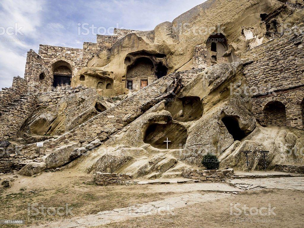 David Gareja monastery. stock photo