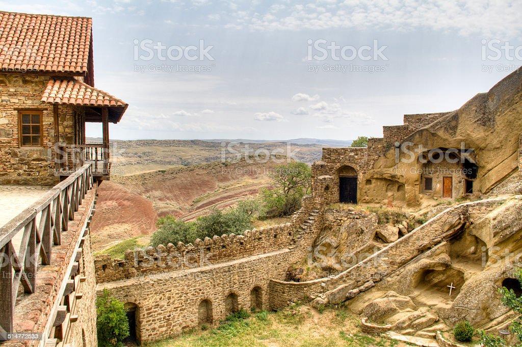 David Gareja monastery stock photo