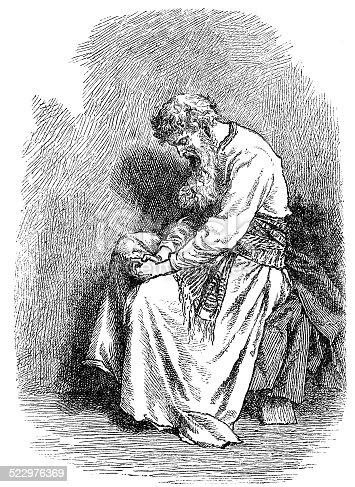Engraving of