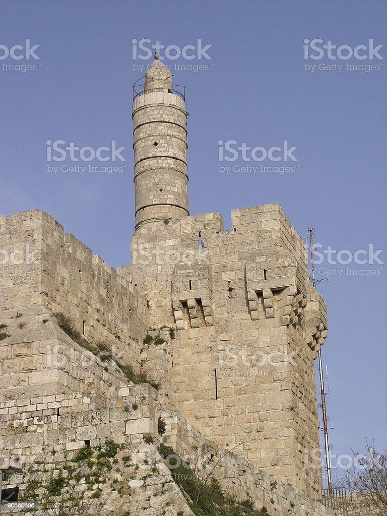 David  tower - Jerusalem stock photo