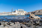 A stock photo of Davis Dam on the Arizona/Nevada border. Located on the Colorado River and about 68 miles South of the World Famous Hoover Dam