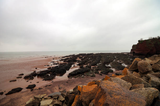 Dawlish Warren Beach stock photo