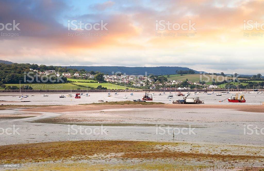 Dawlish Warren, Devon, England stock photo