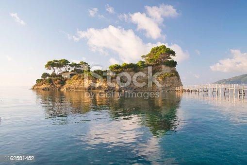 Dawn At Agios Sostis Island, Zakyntho