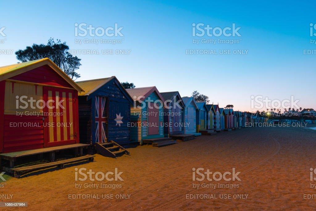 Aube à Brighton Beach - Photo