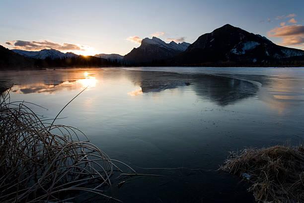 Dawn at Vermilion Lakes, Banff, Canada