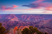Dawn at Yaki Point  on the Grand Canyon's South Rim