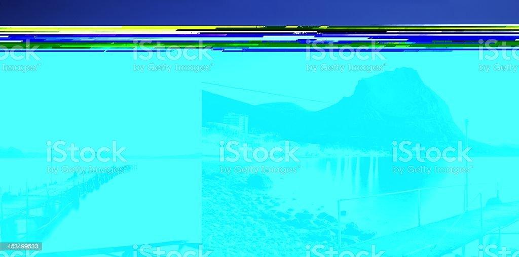 Dawn bay royalty-free stock photo