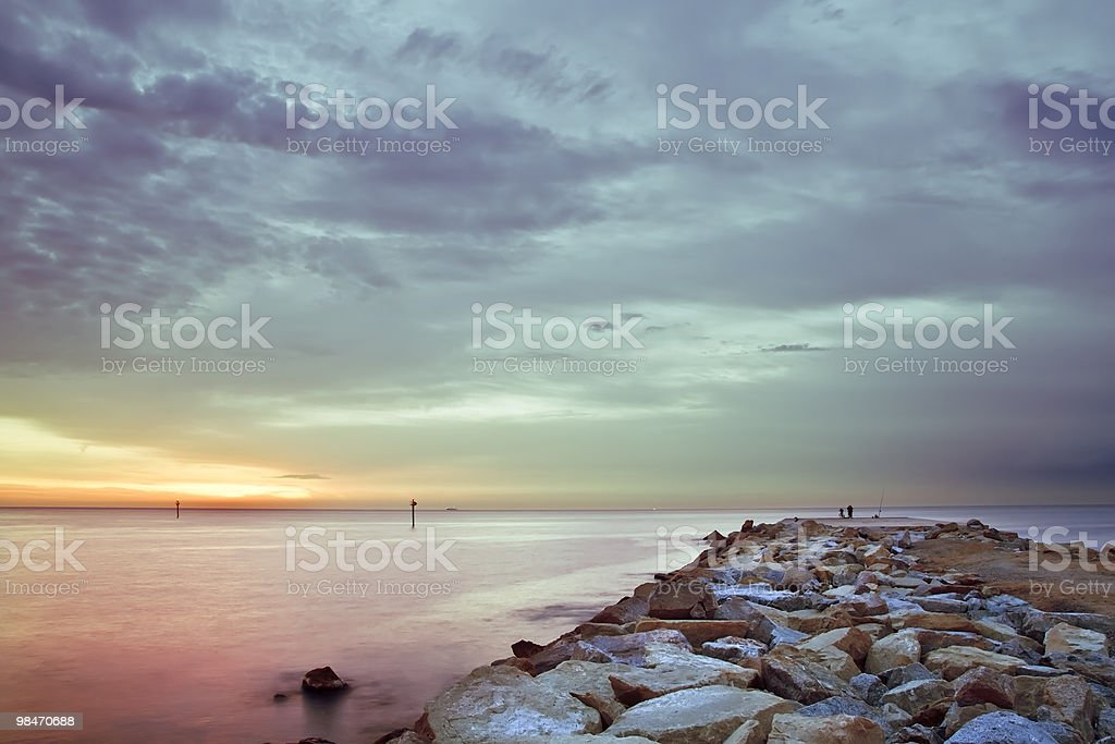 Dawn colors royalty-free stock photo