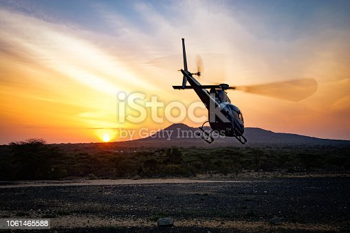 Dawn Flight in Kenya, Samburu National Park