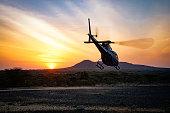 Dawn Flight in Kenya, Samburu National Park