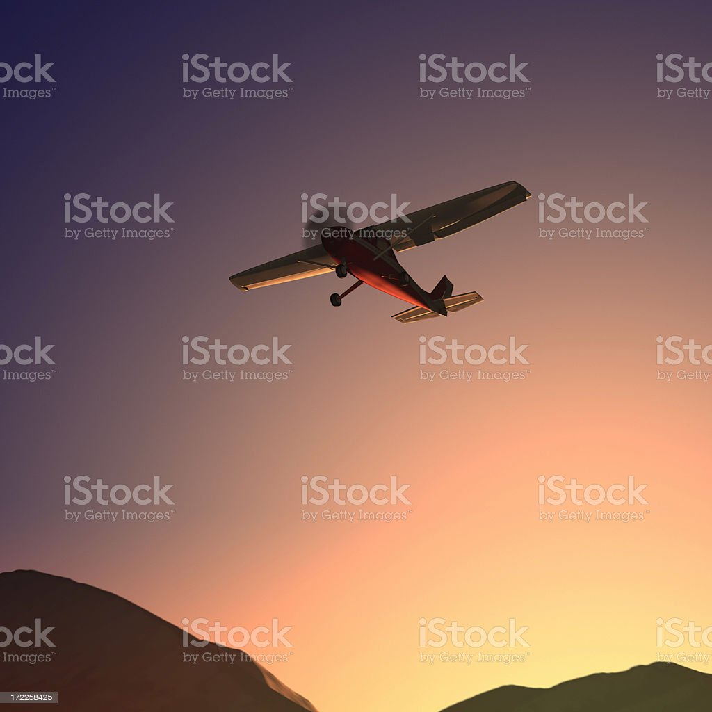 Dawn Flight XL royalty-free stock photo