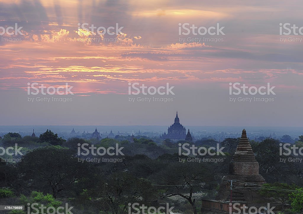 Dawn in Ancient Land royalty-free stock photo