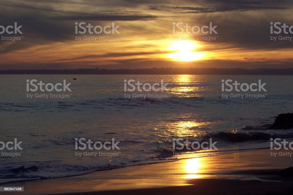 Dawn in Fuerteventura royalty-free stock photo