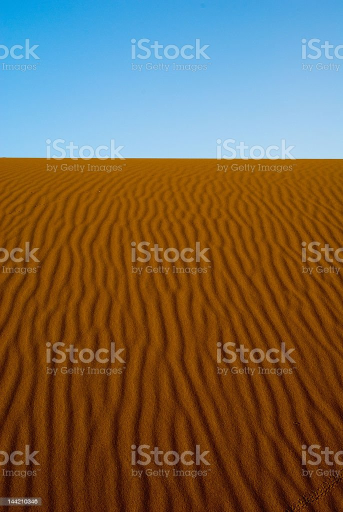 Dawn in the Dunes royalty-free stock photo