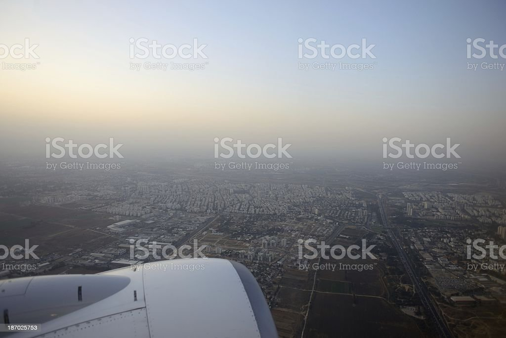 Dawn over Israel royalty-free stock photo