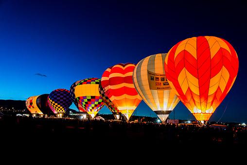 Dawn Patrol at the Albuquerque International Balloon Fiesta Albuquerque, New Mexico.