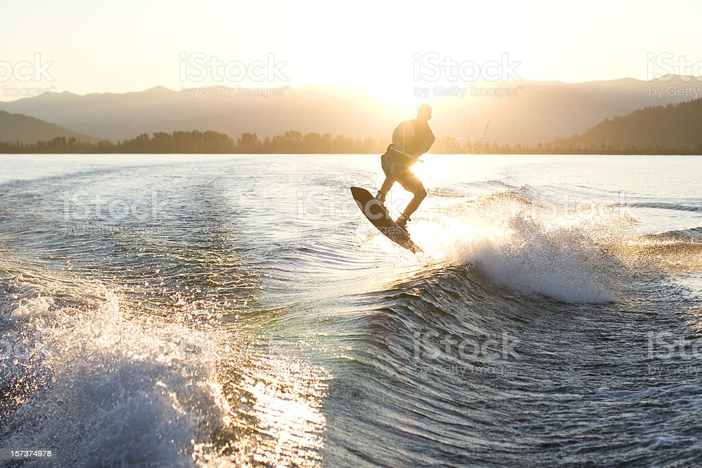 Dawn Patrol stock photo