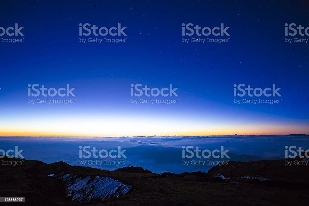 dawn stock photo