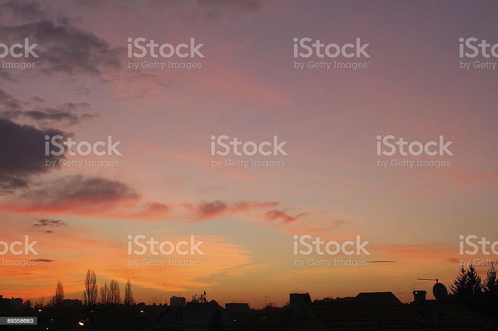Dawn royalty free stockfoto