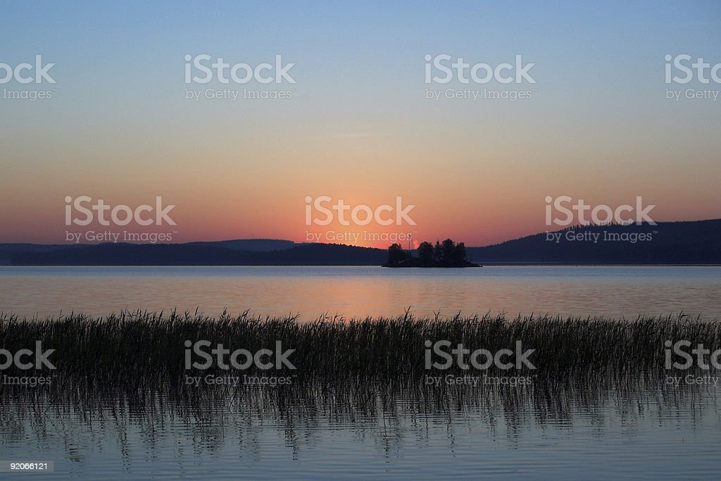 Dawn stock photo