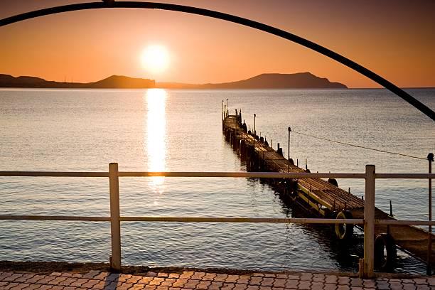 Dawn-Strandpromenade – Foto
