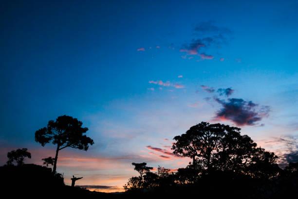 Amanhecer no Brasil - foto de acervo
