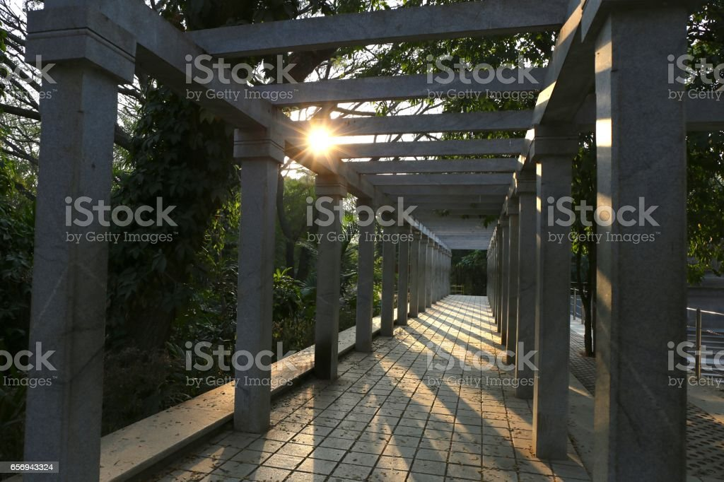 dawn-to-dark stock photo