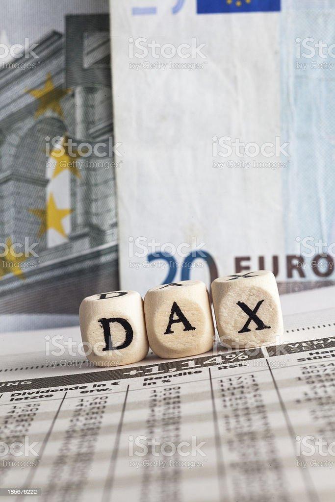 dax stock photo