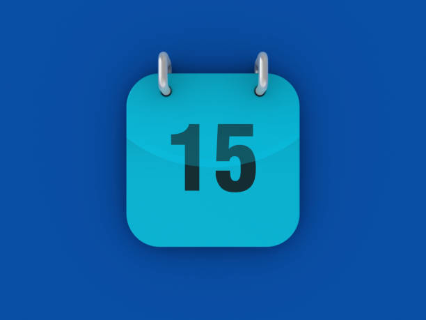Tag 15 Kalender - 3D-Rendering – Foto