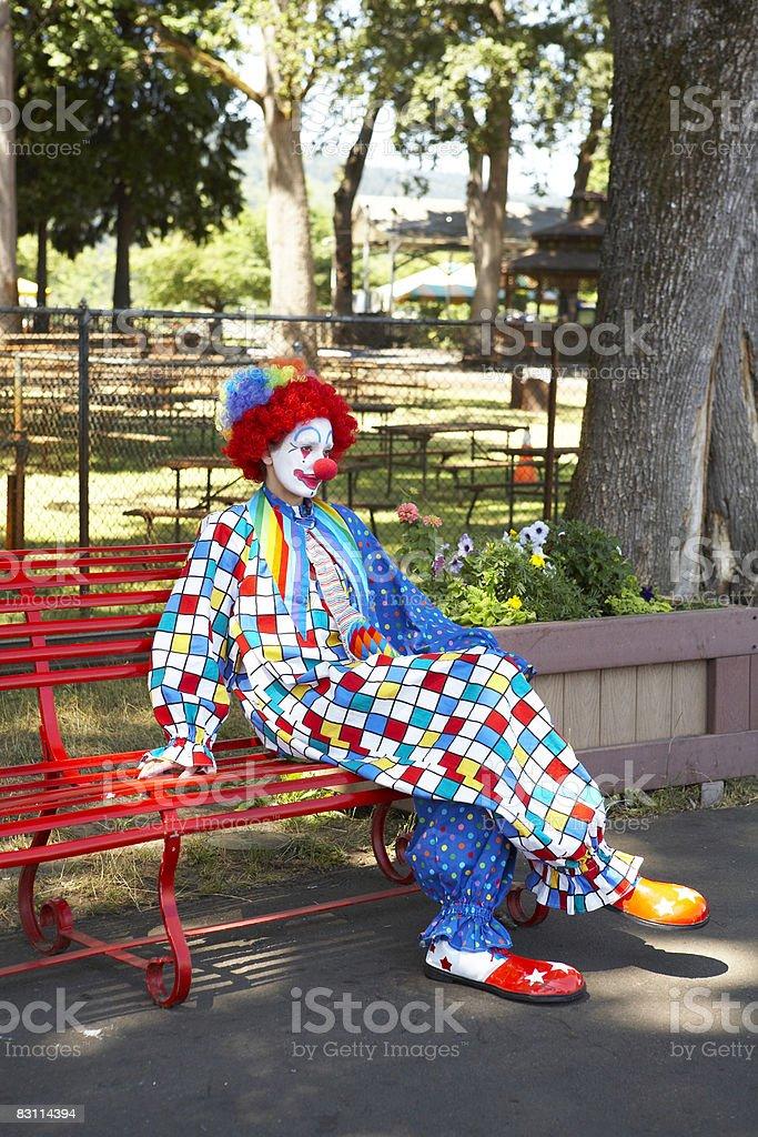 Giorno presso un parco divertimenti foto stock royalty-free