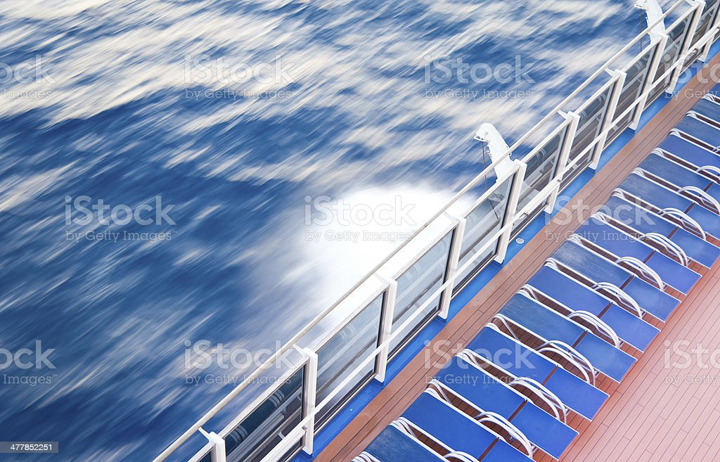 Day at Sea stock photo