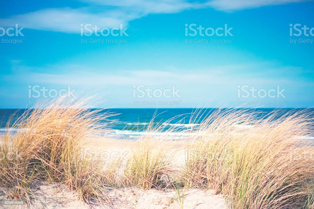 Day at the Baltic Sea stock photo