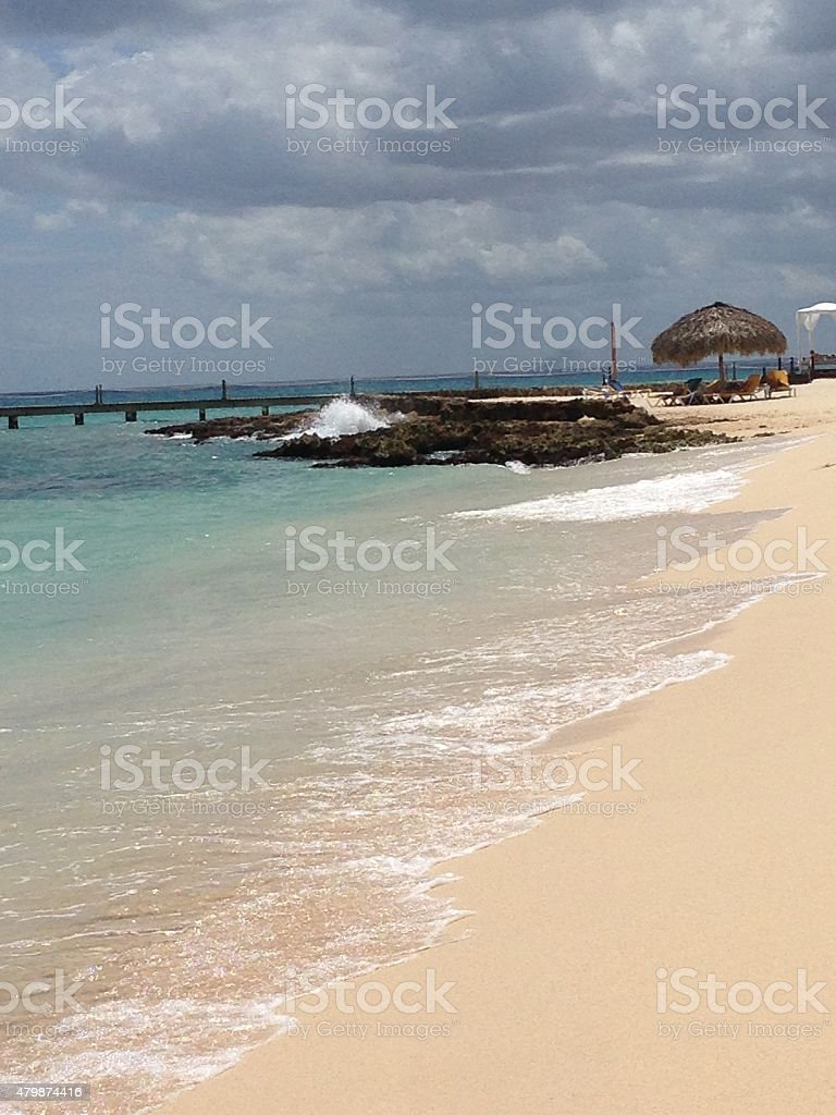 Day at the beach. stock photo